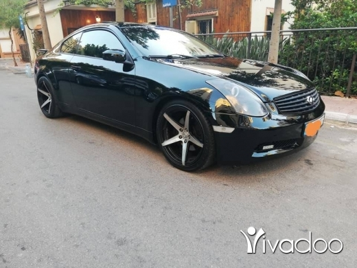 Infiniti in Beirut City - آنفنتي موديل 2005