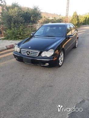 Mercedes-Benz in Beirut City - 2004 mercedes c230