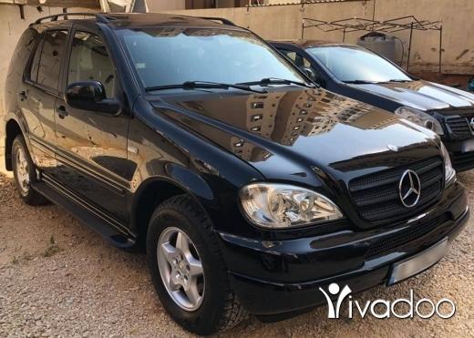 Mercedes-Benz in Tripoli - Mercedes ML 320 model 2001