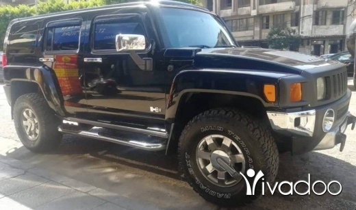Hummer in Tripoli - رانج Hummer H3
