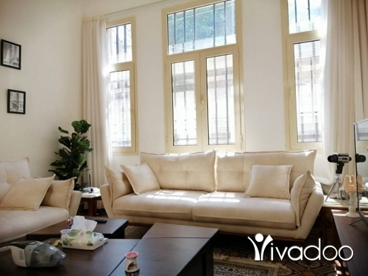 Apartments in Mar Mikhael - A fully furnished 120 m2 apartment for rent in Mar mikhael