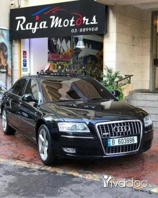 Audi in Beirut City - Audi A8L Quattro W12 2010