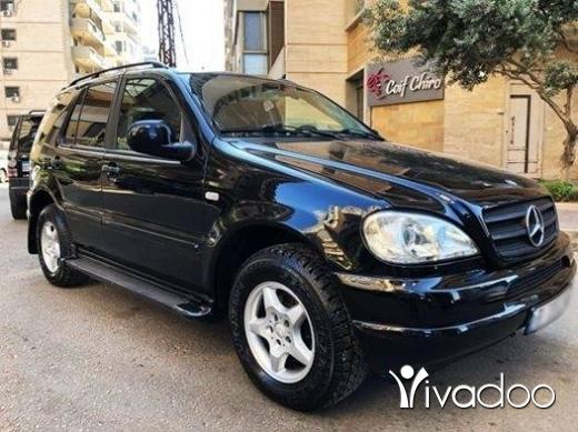 Mercedes-Benz in Tripoli - ML 320 Model 2001 Full Clean car