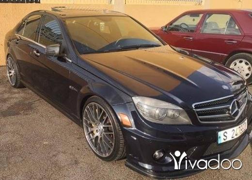 Mercedes-Benz in Saida - C63 AMG mod 2010 475HP.امكانية الفحص بالكامل.٧٠٤٥٥٤١٤
