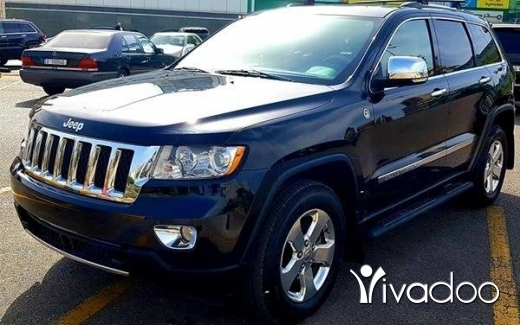 Jeep in Beirut City - Jeep Grand Cherokee #Overaland مسكر زوايد