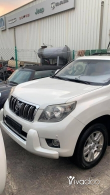 Toyota in Port of Beirut - Toyota Land Cruiser Prado