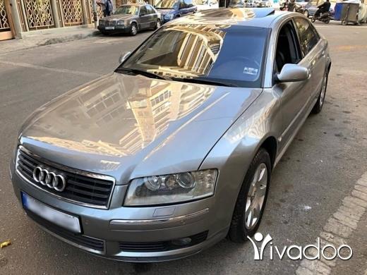 Audi in Beirut City - Audi A8 Model 2004 Full - 8 cilander شركه لبنانيه