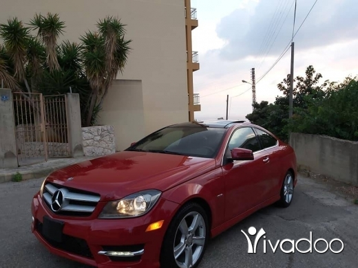 Mercedes-Benz in Beirut City - 2012 mercedes benz C 250 Amg look