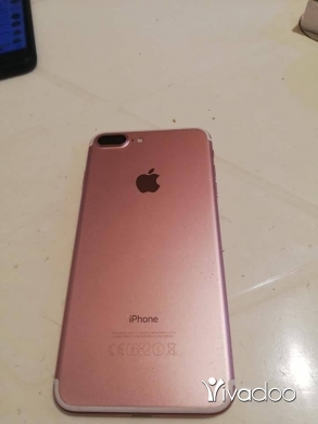 Apple iPhone in Beirut City - IPhone 7 plus 128 gb gold rose ndif ktir