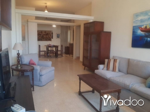 Apartments in Achrafieh - A fully furnished 140 m2 apartment having an open sea view for rent in Achrafieh - prime location