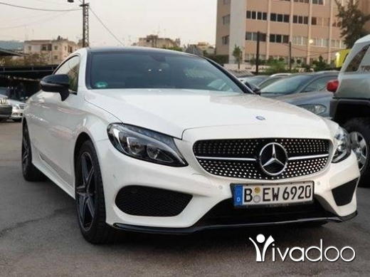 Mercedes-Benz in Beirut City - 2017 C200 Coupe AMG-Line / like new !