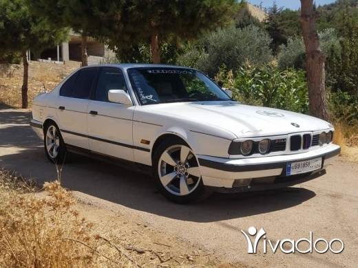 BMW in Baalback - افخم بومة بلبنان 535فتيس عادي أنقاض