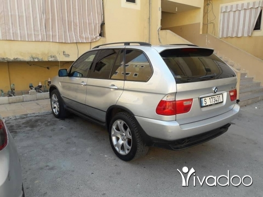 BMW in Port of Beirut - X5 2001