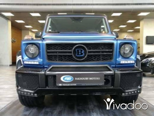Mercedes-Benz in Verdun - Mercedes Benz G500 BRABUS 2015