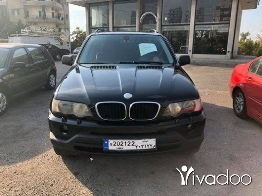 BMW in Kaslik - x5 2001 مع وقم مميز