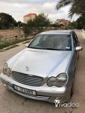 Mercedes-Benz in Sour - C230 kompressor/2004.امكانية الفحص بالكتمل.٧٠٤٥٥٤١٤