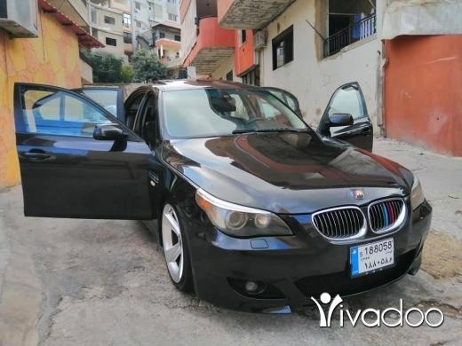 BMW in Deir Ammar - بموا e60 مودال 2004 مفولي 525 لوك M5 للبيع او موقايضة