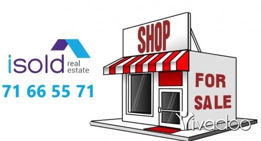 Shop in Rabweh - A 47 m2 store for sale in Rabwe / Rabieh near Serhal Hospital
