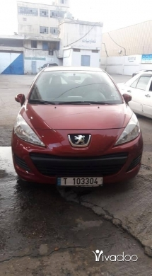 Peugeot in Tripoli - بيجو 207