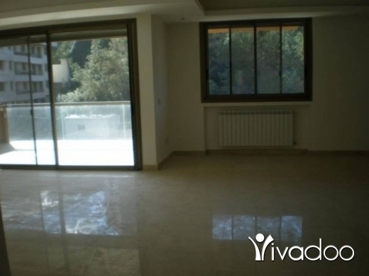 Apartments in Baabda - APARTMENT FOR SALE IN BAABDA RIHANIYEH WITH MOUNTAIN VIEW.
