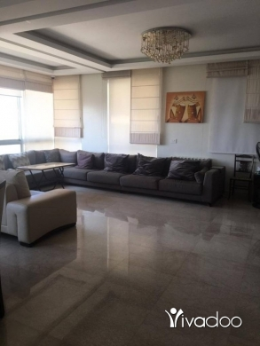 Apartments in Loueizeh - A furnished 180 m2 apartment with an open mountain view for rent in Jamhour