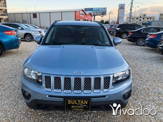 Jeep in Beirut City - Jeep compass latitude 2014