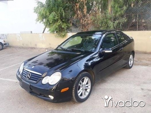 Mercedes-Benz in Zgharta - C 230 2002 coupe khar2a