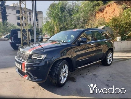 Jeep in Beirut City - Grand Cherokee limited 2014 V6 Look SRT
