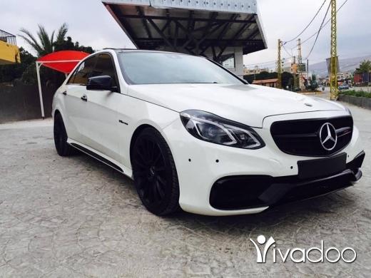 Mercedes-Benz in Tripoli - E550 2011 full options
