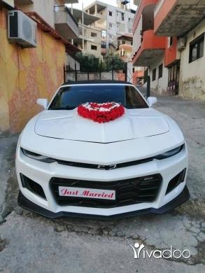 Chevrolet in Deir Ammar - كمارو Rs للاجار لاعراس فقد (عيد) ديرعمار