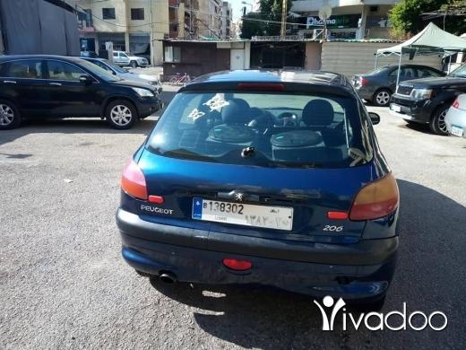 Peugeot in Beirut City - بيجو 206
