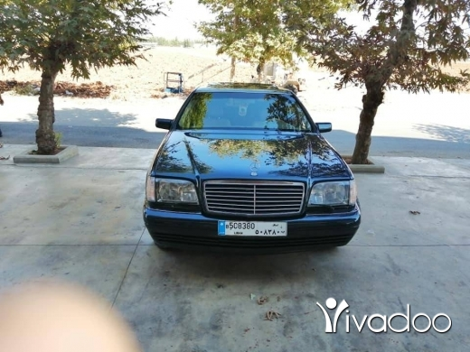 Mercedes-Benz in Zahleh - مرسيدس بنز شبح ٣٢٠