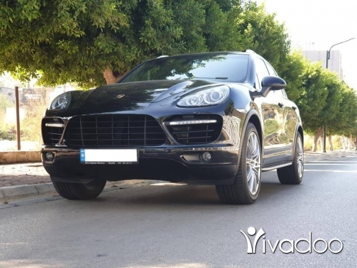 Porsche in Port of Beirut - Cayenne TURBO