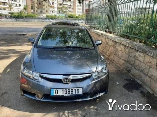 Honda in Beirut City - Hounda civic 2009