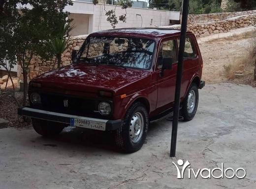 Lada in Port of Beirut - Lada niva