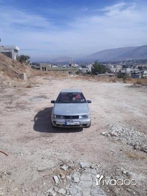 Hyundai in Port of Beirut - سيارة هيونداي اكسل موديل 94