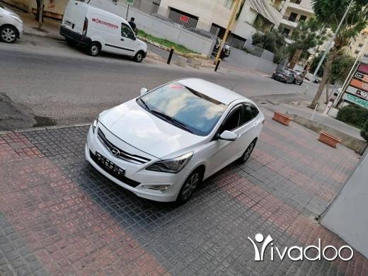Hyundai in Port of Beirut - هيونداي سولارس موديل 2016