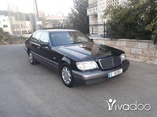 Mercedes-Benz dans Baabda - Mercedes S500 model 1992