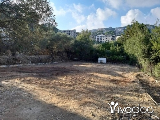 Land in Broumana - A 755 m2 land with an open mountain view for sale in Broumana