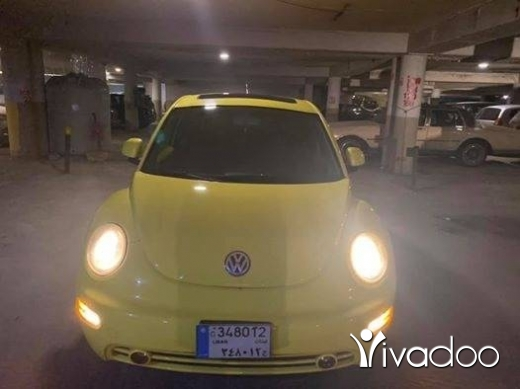 Volkswagen in Beirut City - Beetle