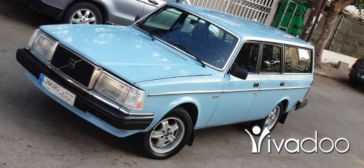 Volvo in Beirut City - Volvo 240 station