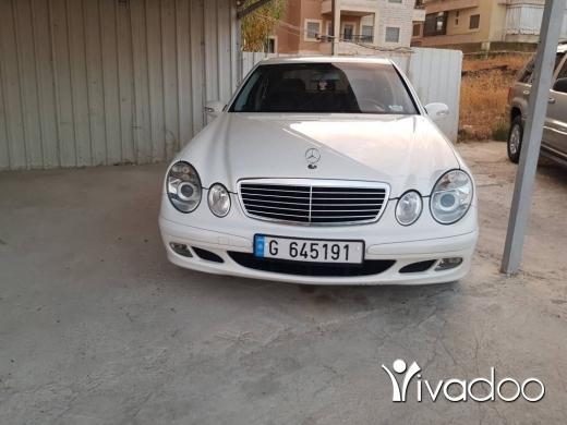 Mercedes-Benz in Port of Beirut - E240 2003 . Swiss origin.
