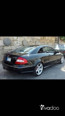 Mercedes-Benz in Berj Hammoud - mercedes clk55 amg supercharger (650hp)