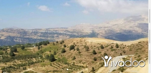 Land in Zaarour - An 822 m2 land with an open mountain view for sale in Zaarour - Zaarour Club