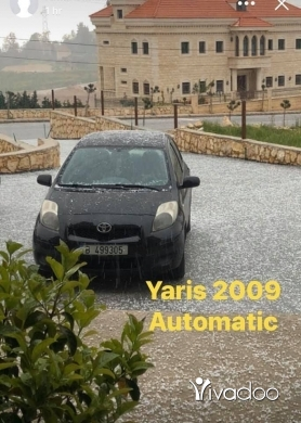 Toyota in Beirut City - Toyota YARIS Model 2009