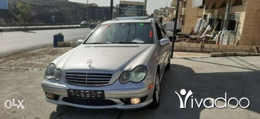 Mercedes-Benz in Nabatyeh - C230 2005 look amg moter vites 7did top 3all fa7ess v4