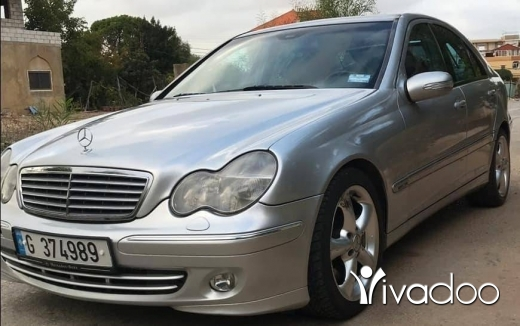 Mercedes-Benz in Sour - C230/2004.امكانية الفحص بالكامل.٧٠٤٥٥٤١٤