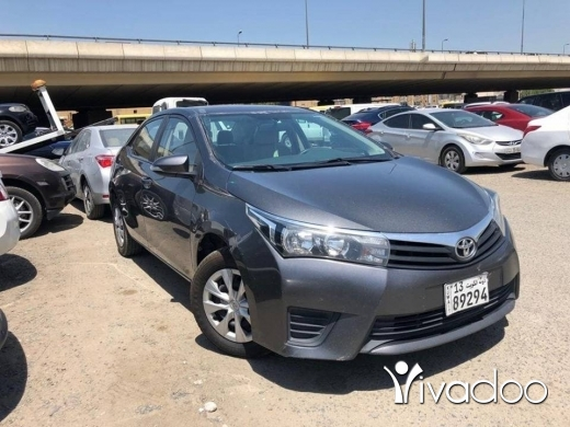 Toyota in Tripoli - Toyota (Corolla * Yaris * Camry) Madel 2015 * 2016 *2017 for sale Installments