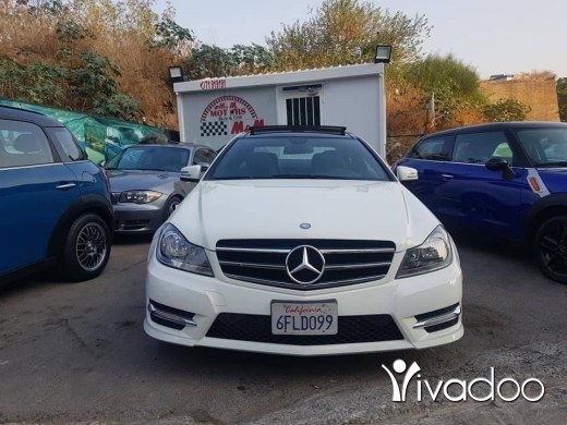Mercedes-Benz in Mkalles - Mercedes Benz C 250 coupe Amg package 2012 F/O ajnabieh