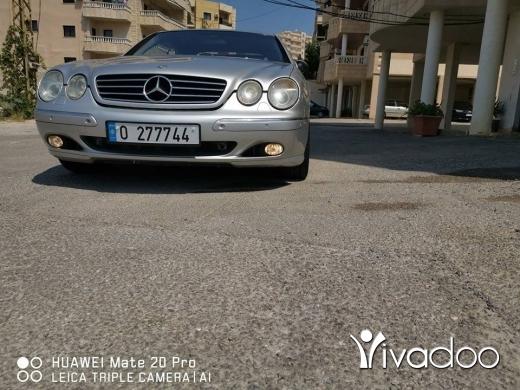 Mercedes-Benz in Beirut City - Mercedes cl500 2002 كاش او تبديل على ميني كوبر مع فرق